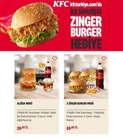 KFC broşürdeki Kafe ve Restoranlar dan fırsatlar ( 4 gün kaldı)