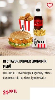 KFC broşürdeki Kafe ve Restoranlar dan fırsatlar ( 5 gün kaldı)