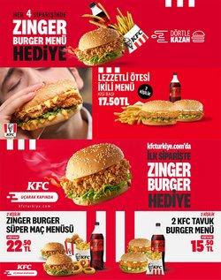 KFC broşürdeki Kafe ve Restoranlar dan fırsatlar ( Bugün yayınlandı)