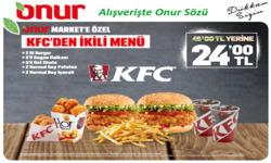 İstanbul broşürdeki KFCdan fırsatlar