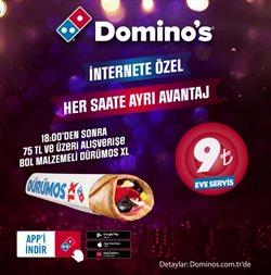 Domino's Pizza kataloğu ( Süresi geçmiş )