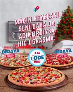 Kafe ve Restoranlar fırsatları İstanbul Domino's Pizza kataloğu ( 9 gün kaldı )
