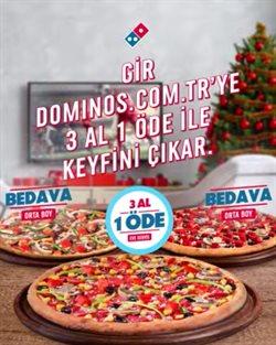 Kafe ve Restoranlar fırsatları Domino's Pizza kataloğu ( 5 gün kaldı )