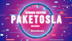 Kafe ve Restoranlar fırsatları İstanbul Domino's Pizza kataloğu ( Dün yayınlandı )