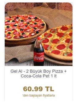 Domino's Pizza kataloğu ( 11 gün kaldı )