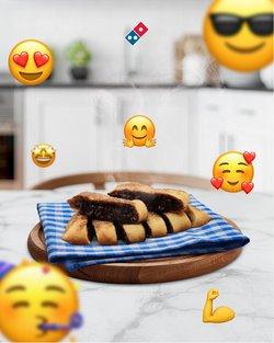 Domino's Pizza broşürdeki Kafe ve Restoranlar dan fırsatlar ( Yarın son gün)