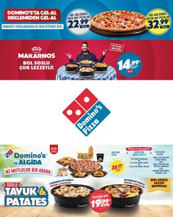 Domino's Pizza broşürdeki Domino's Pizza dan fırsatlar ( 7 gün kaldı)