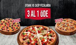 Ödemiş broşürdeki Domino's Pizzadan fırsatlar