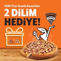 Little Caesars Pizza broşürdeki Kafe ve Restoranlar dan fırsatlar ( 4 gün kaldı)