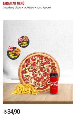 Kafe ve Restoranlar fırsatları Ankara Pasaport Pizza kataloğu ( 5 gün kaldı )