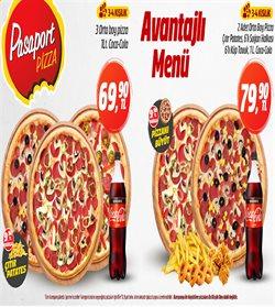 Pasaport Pizza kataloğu ( Yarın son gün )