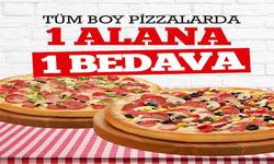 İzmir broşürdeki Pasaport Pizzadan fırsatlar