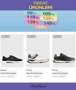 Ayakkabı Dünyası broşürdeki Ayakkabı Dünyası dan fırsatlar ( 9 gün kaldı)