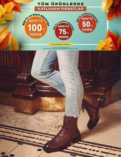 Ayakkabı Dünyası broşürdeki Ayakkabı Dünyası dan fırsatlar ( Dün yayınlandı)