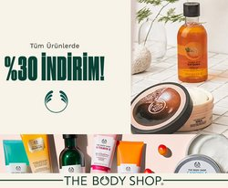 The Body Shop kataloğu ( Bugün son gün )