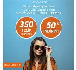 İstanbul Atasun Optik kataloğu ( Bugün son gün )