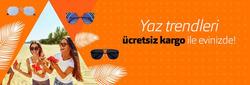 İstanbul broşürdeki Atasun Optikdan fırsatlar