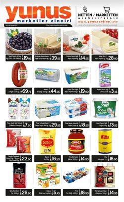 Süpermarket fırsatları Erzurum Yunus Market kataloğu ( 6 gün kaldı )