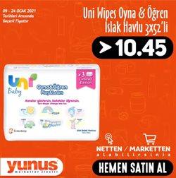 Süpermarket fırsatları İzmir Yunus Market kataloğu ( 2 gün kaldı )
