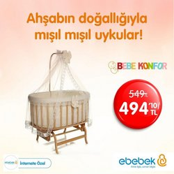 Oyuncak ve Bebek fırsatları Ankara ebebek kataloğu ( 8 gün kaldı )