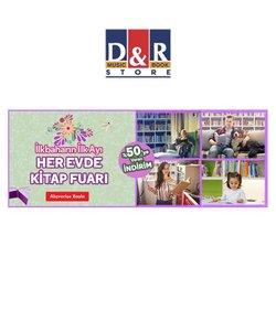 Kitap ve kırtasiye fırsatları Ankara D&R kataloğu ( 2 gündür yayında )