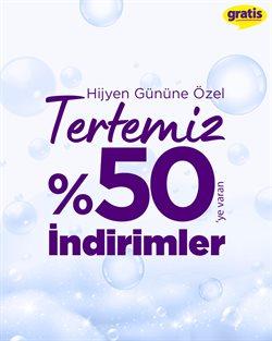 Kozmetik fırsatları İstanbul Gratis kataloğu ( Bugün son gün )
