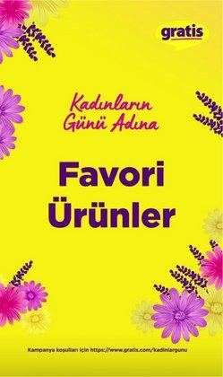 Kozmetik fırsatları Adana Gratis kataloğu ( 5 gün kaldı )