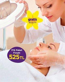 Kozmetik fırsatları Gratis kataloğu ( Yarın son gün )