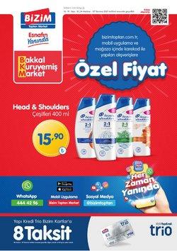 Bizim Toptan broşürdeki Süpermarketler dan fırsatlar ( Bugün yayınlandı)