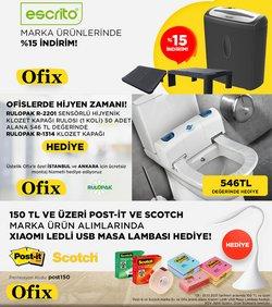 Ofix broşürdeki Teknoloji ve Beyaz Eşya dan fırsatlar ( Bugün yayınlandı)