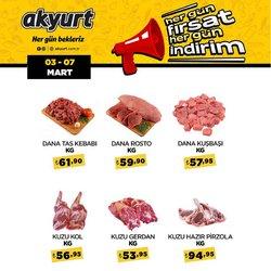 Ankara Akyurt Süpermarket kataloğu ( Süresi geçmiş )