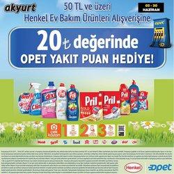 Akyurt Süpermarket broşürdeki Akyurt Süpermarket dan fırsatlar ( 16 gün kaldı)