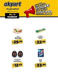 Akyurt Süpermarket broşürdeki Akyurt Süpermarket dan fırsatlar ( 3 gün kaldı)