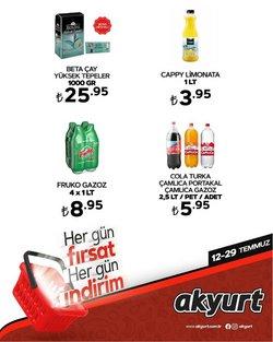 Akyurt Süpermarket broşürdeki Akyurt Süpermarket dan fırsatlar ( 2 gün kaldı)