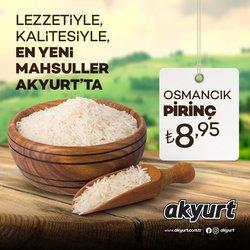 Akyurt Süpermarket broşürdeki Akyurt Süpermarket dan fırsatlar ( Yarın son gün)