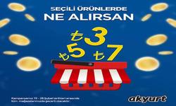 Ankara broşürdeki Akyurt Süpermarketdan fırsatlar