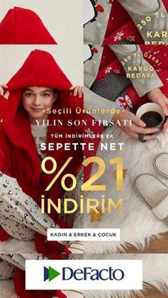 Erzurum DeFacto kataloğu ( Süresi geçmiş )