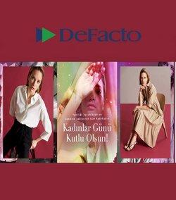 Moda fırsatları Ankara DeFacto kataloğu ( 8 gün kaldı )