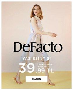 DeFacto broşürdeki DeFacto dan fırsatlar ( Yarın son gün)