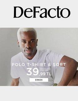 DeFacto broşürdeki Giyim, Ayakkabı ve Aksesuarlar dan fırsatlar ( Dün yayınlandı)