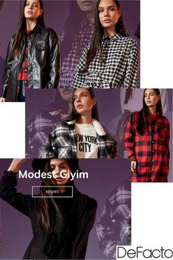 DeFacto broşürdeki Giyim, Ayakkabı ve Aksesuarlar dan fırsatlar ( 3 gün kaldı)