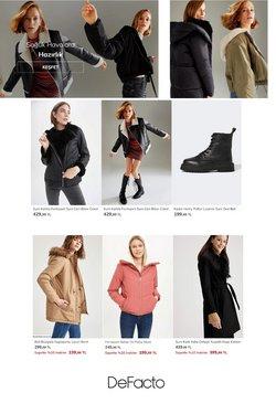 DeFacto broşürdeki Giyim, Ayakkabı ve Aksesuarlar dan fırsatlar ( Bugün yayınlandı)