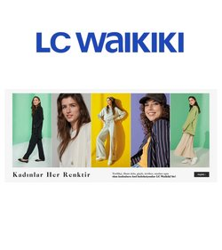 Moda fırsatları Bursa LC Waikiki kataloğu ( 5 gün kaldı )