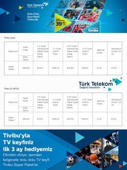 Türk Telekom kataloğu ( Dün yayınlandı )