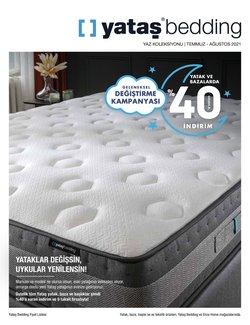 Yataş Bedding broşürdeki Ev ve Mobilya dan fırsatlar ( 29 gün kaldı)