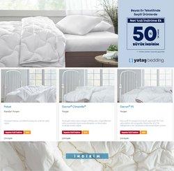 Yataş Bedding broşürdeki Yataş Bedding dan fırsatlar ( Süresi geçmiş)