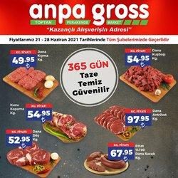 Anpa Gross broşürdeki Süpermarketler dan fırsatlar ( Bugün yayınlandı)