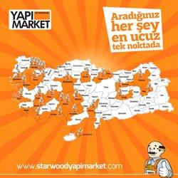 Yapı Market, Oto ve Bahçe fırsatları İstanbul Starwood Yapımarket kataloğu ( Uzun geçerlilik )