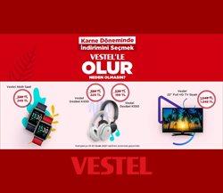 Elektronik ve Beyaz Eşya fırsatları Vestel kataloğu ( 2 gündür yayında )