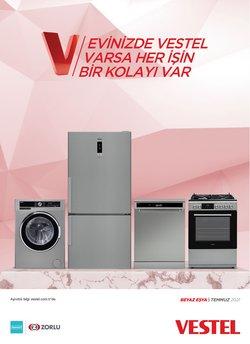 Vestel broşürdeki Teknoloji ve Beyaz Eşya dan fırsatlar ( 3 gün kaldı)